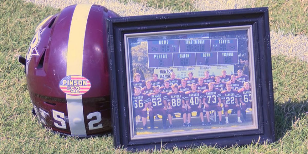 Benton, Ill. native killed while defusing mines in Iraq honored at high school football game