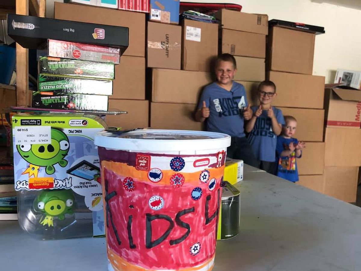 Jackson 7-year old gives back to other kids