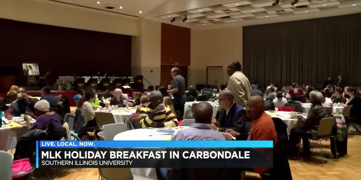 Annual MLK Holiday Breakfast held in Carbondale, Ill.