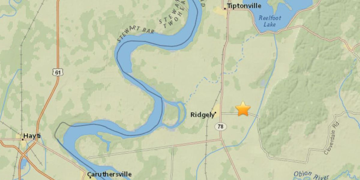 Earthquake in southeastern MO rumbles parts of TN