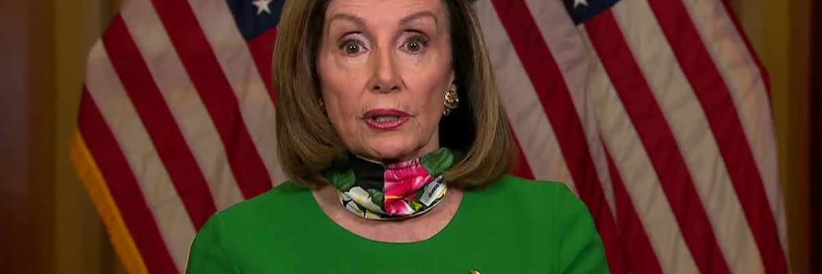 Pelosi on pandemic and stimulus plan