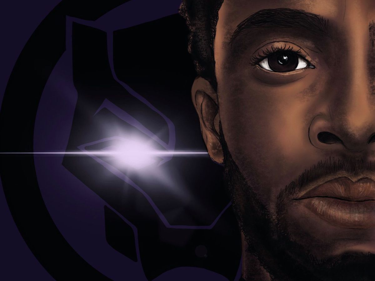 Local artist gives tribute to Chadwick Boseman with digital painting