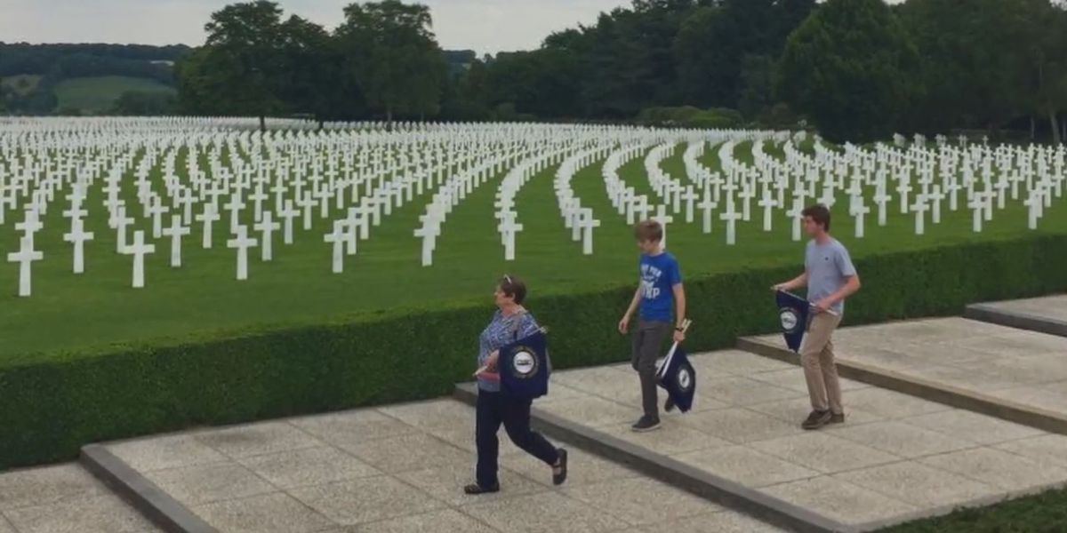 Students travel abroad to honor The Kentucky Boys who died in WWI, WWII