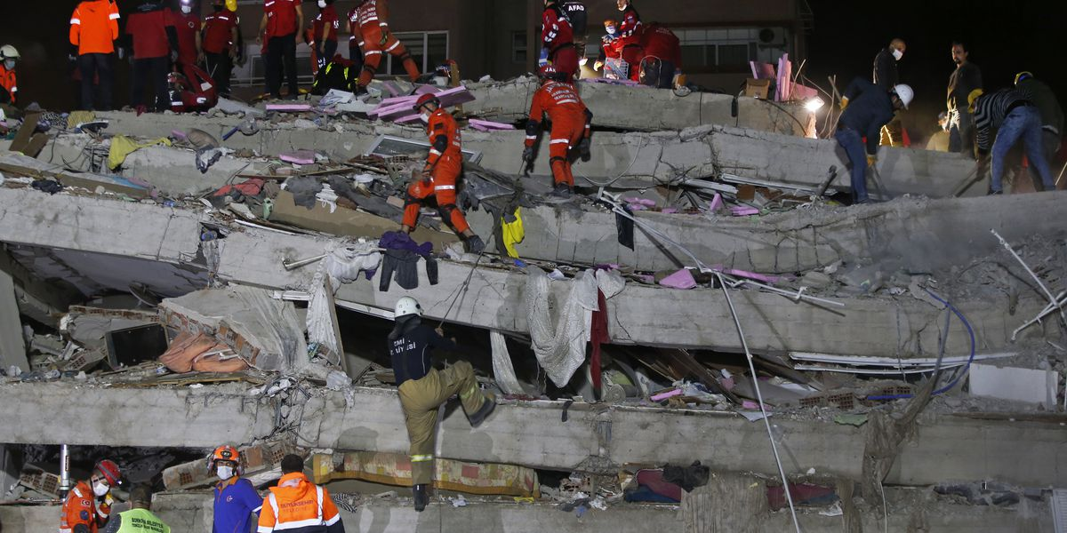 Death toll reaches 27 in quake that hit Turkey, Greek island