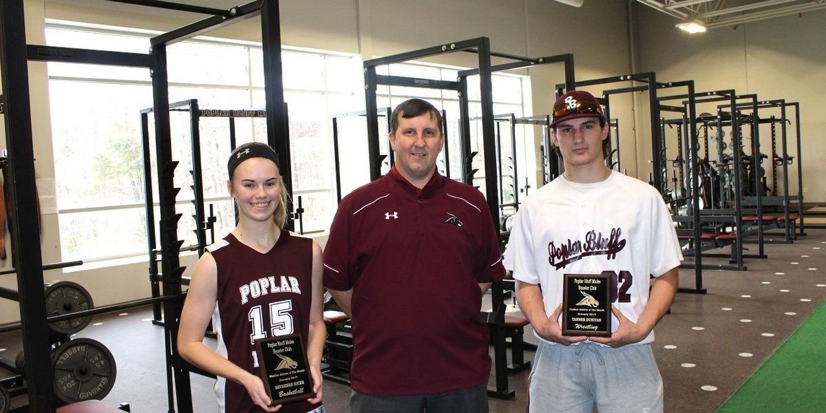 Poplar Bluff R-1 January athletes of the month named