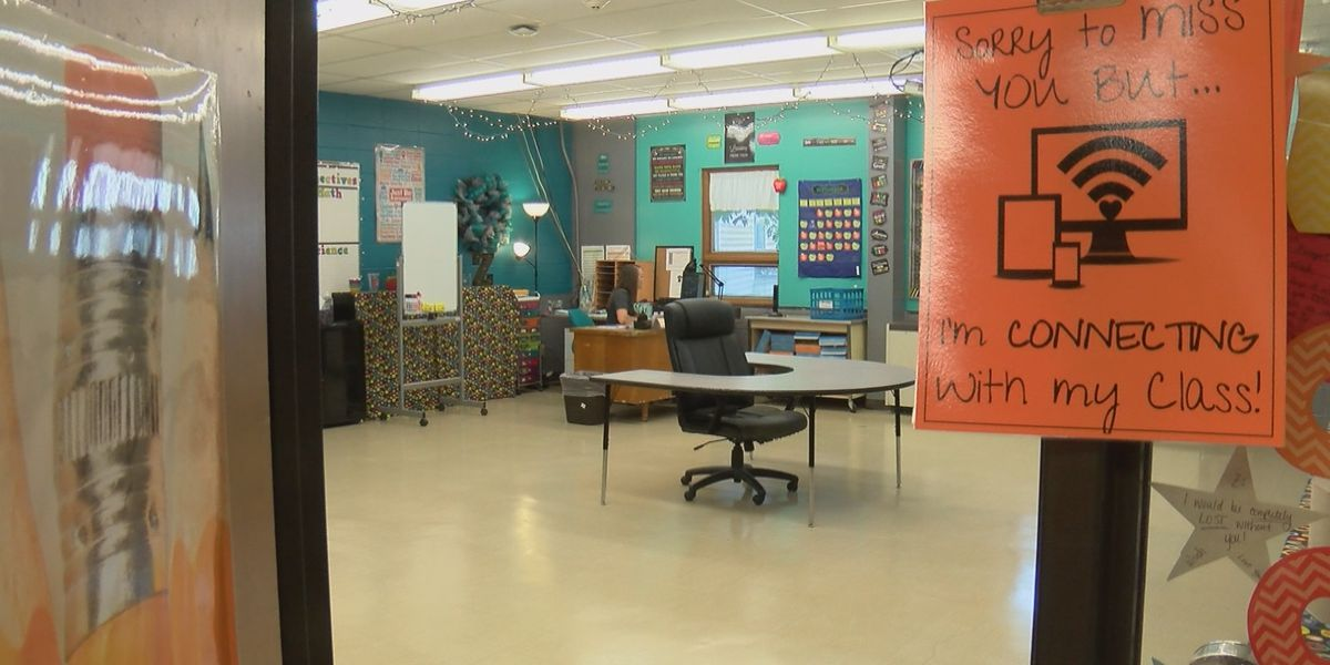 Inside Central Middle School virtual classrooms