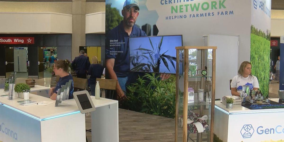 Kentucky's leading hemp producer GenCanna is presenting sponsor of state fair