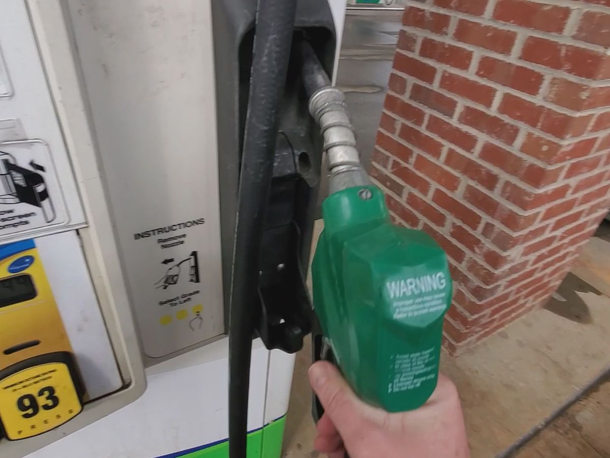 Gas prices at an average of $2.63 a gallon in Missouri