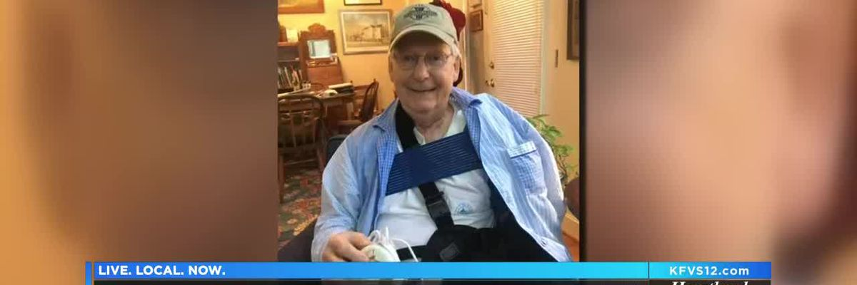 Sen. McConnell recovering after shoulder surgery