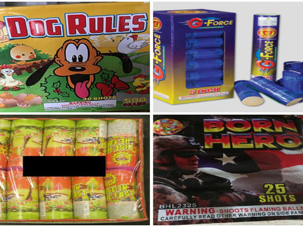 Nearly 40K fireworks recalled due to explosion, burn hazards