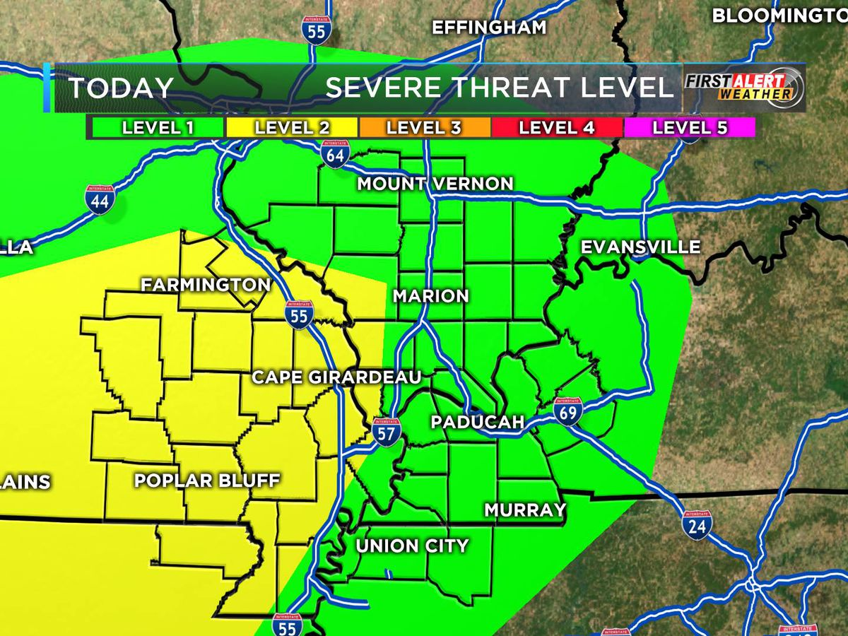 First Alert: Severe storms possible