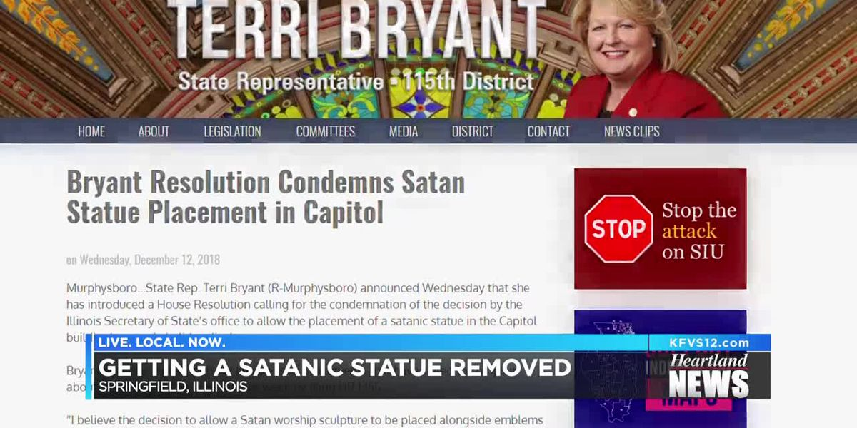 Reaction to IL satanic statue in capitol