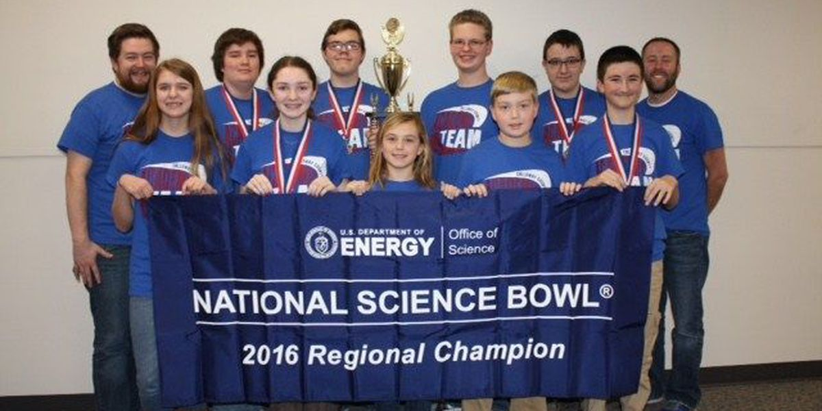 Calloway Middle School science team wins big
