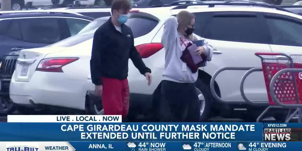 Cape Girardeau Co. mask mandate extended