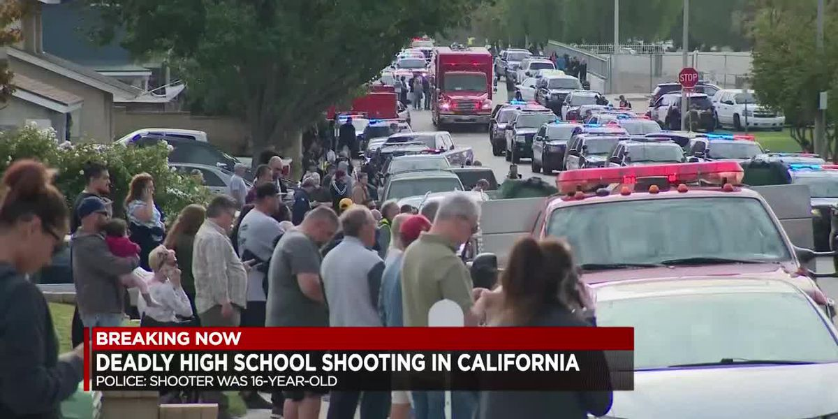 Breaking: Deadly California School Shooting