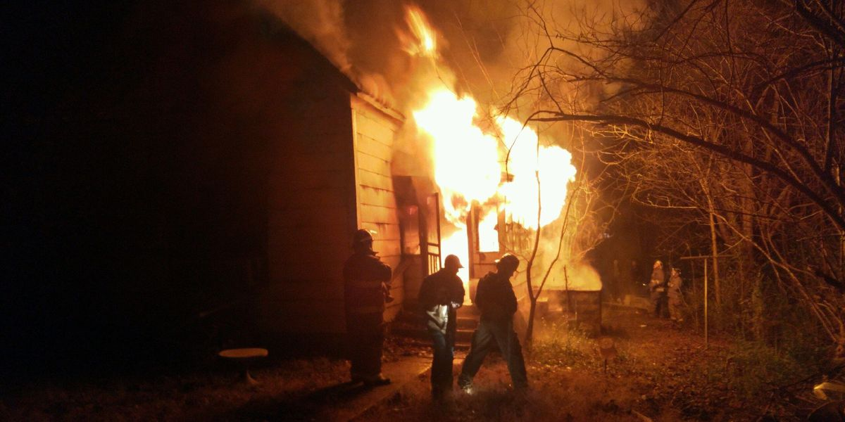 House catches fire in Doniphan, MO