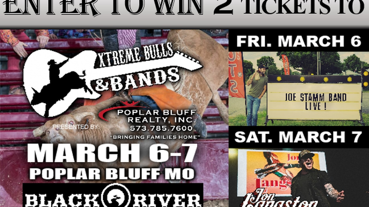 Ticket Winners to Extreme Bulls & Bands!