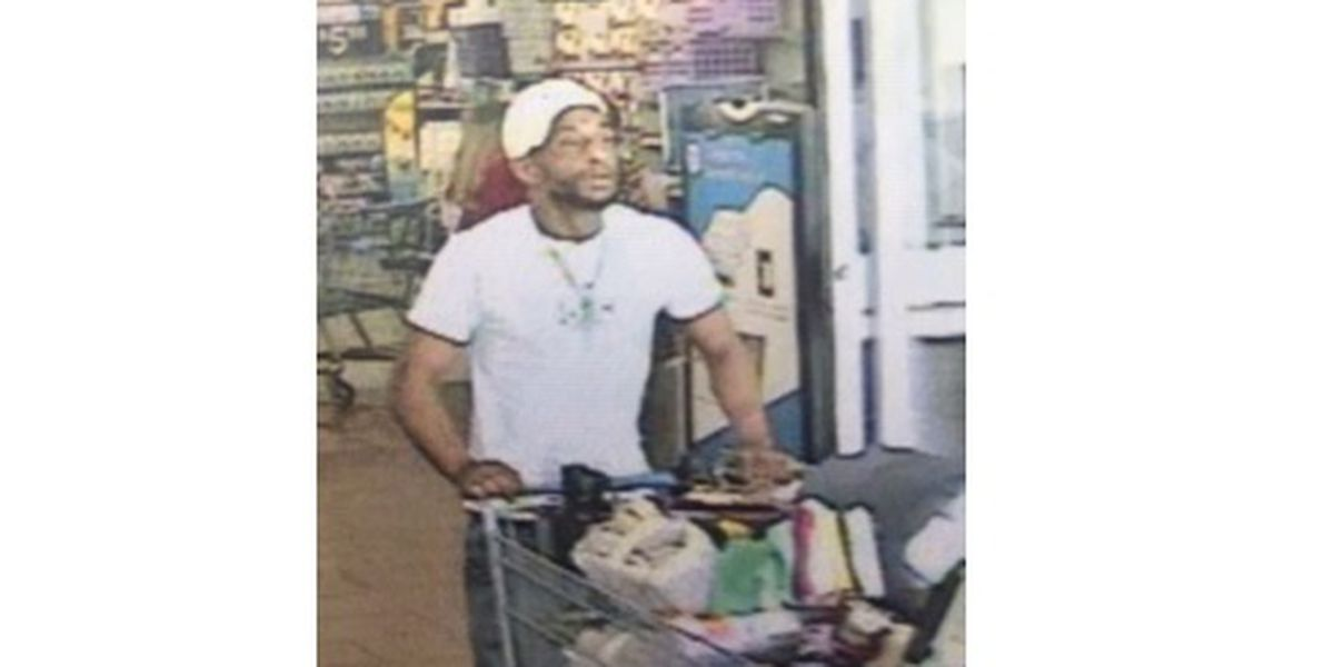 Paducah Police looking for Walmart theft suspect