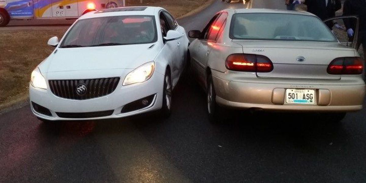 Three-vehicle collision in McCracken County sends one person to the hospital
