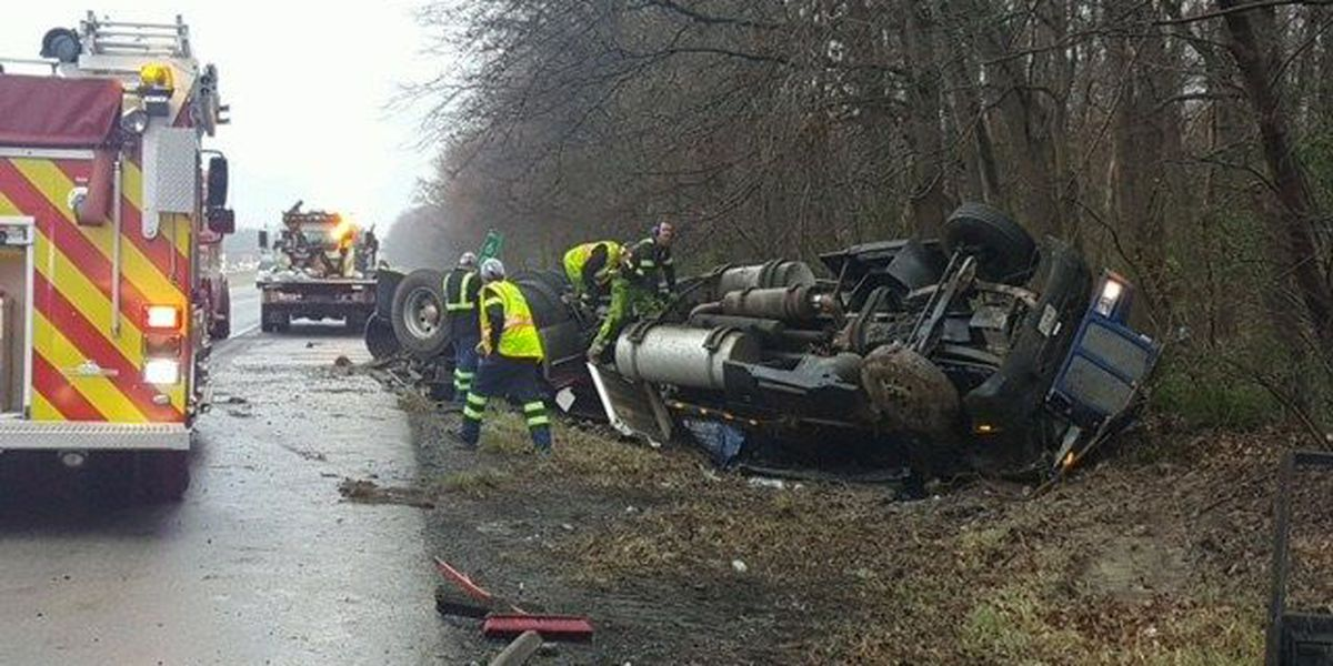 All lanes of I-57 in Williamson Co., IL back open after crash