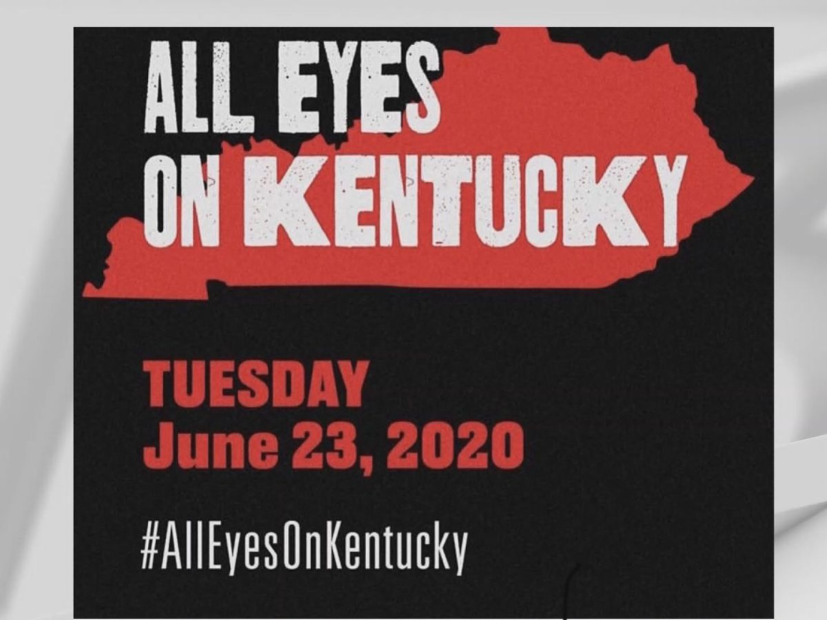Kentucky Primary voters say #AllEyesOnKentucky message is misguided