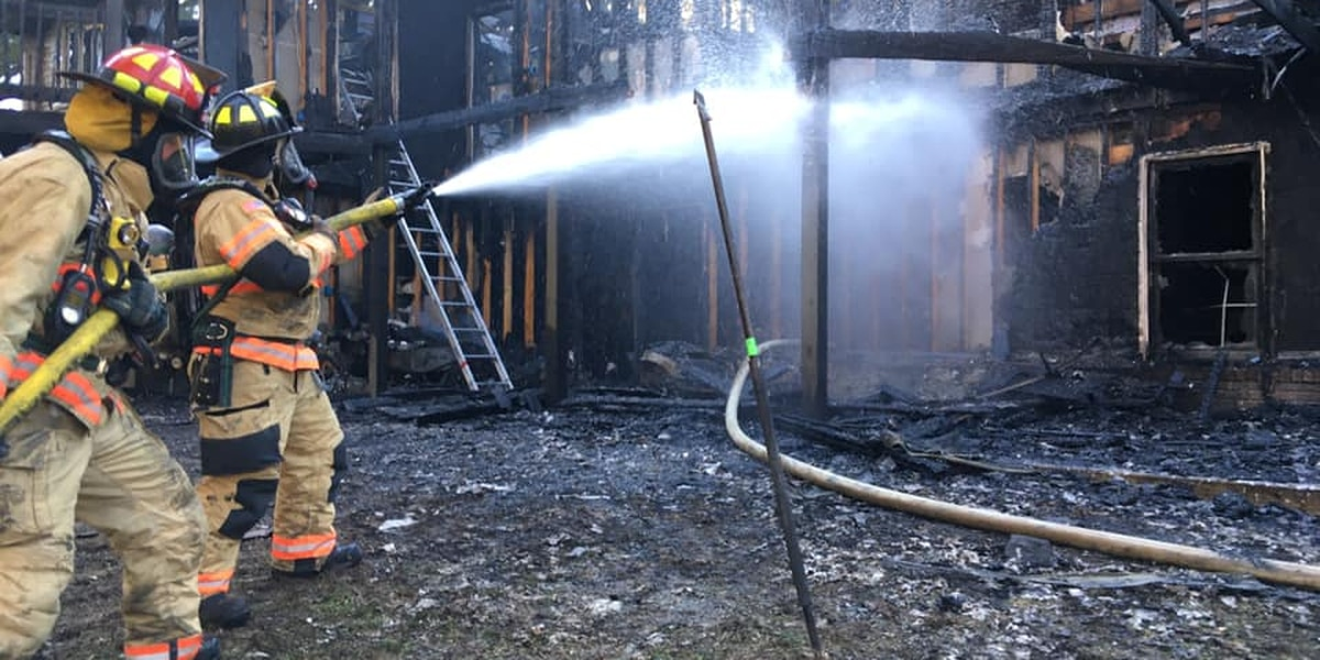 Fire destroys home in Jackson, Mo.