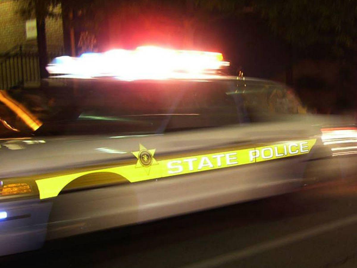 Trooper's cruiser involved in 2-vehicle crash in Harrisburg, Ill.