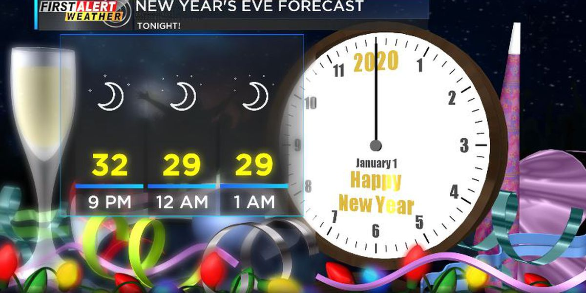 First Alert: New Year's Eve looking clear and chilly