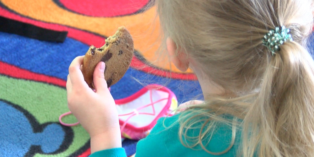 Blanchard Elementary students vote in cookie election