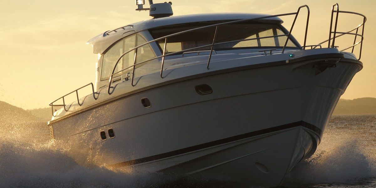Two boats facing heft fines at Lake of the Ozarks
