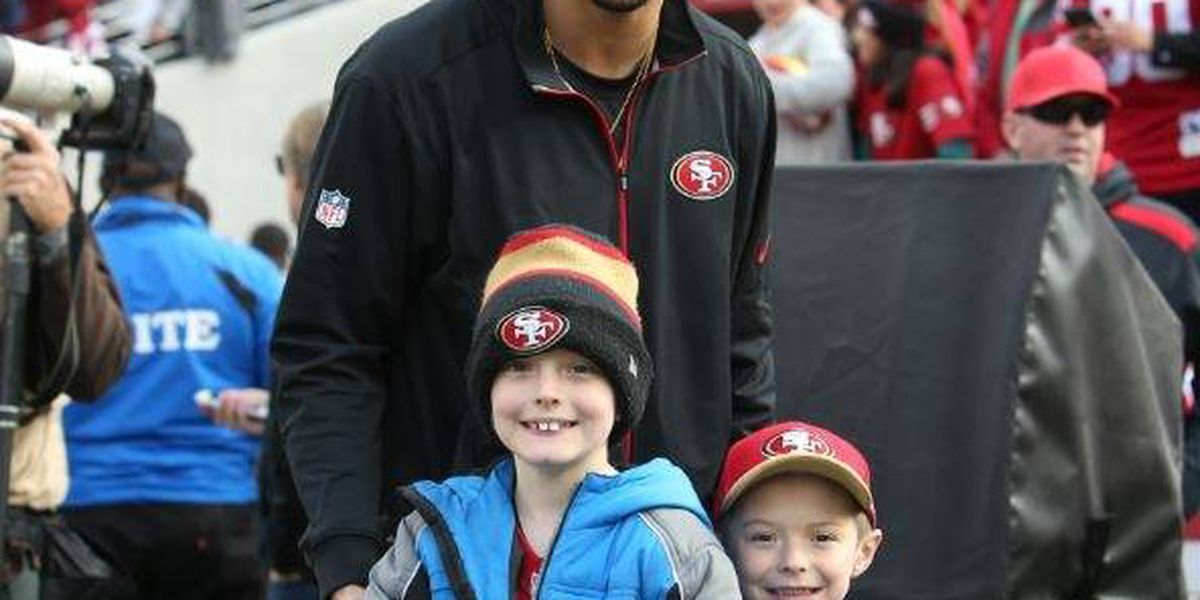 Dream Factory makes local child's San Francisco 49ers dream come true