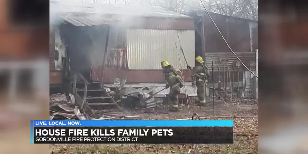 Cape Girardeau County, MO fire claims family pets