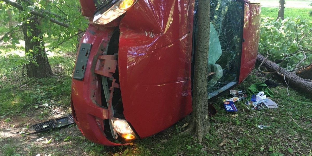 Woman injured in one-car crash in McCracken Co., KY