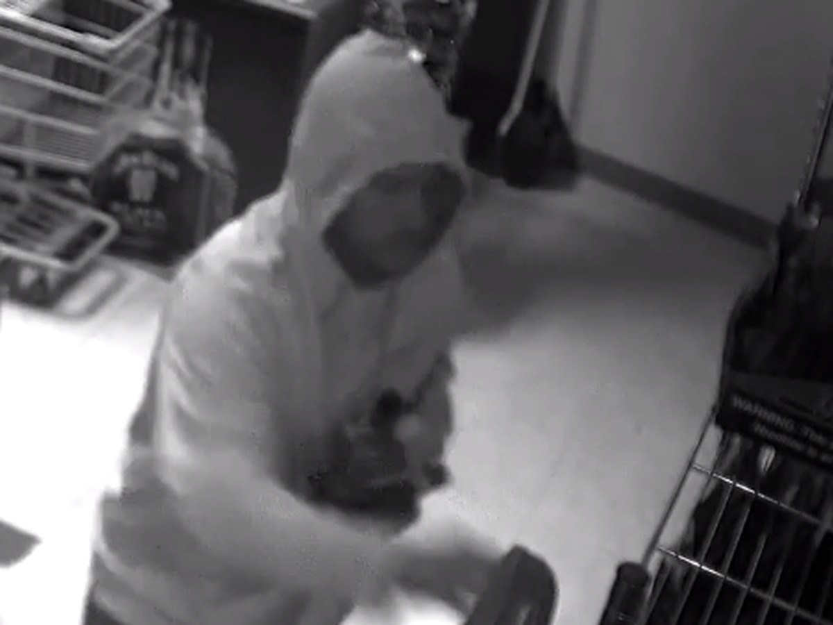 Police search for suspect in Marion, Ill. liquor store robbery