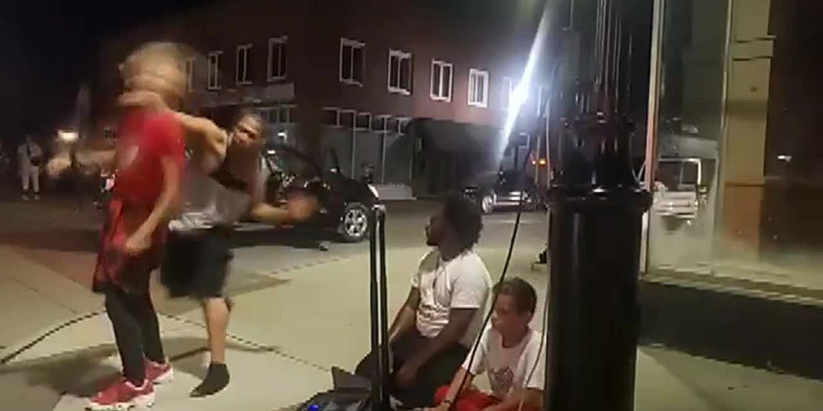 12-year-old boy sucker punched while street dancing