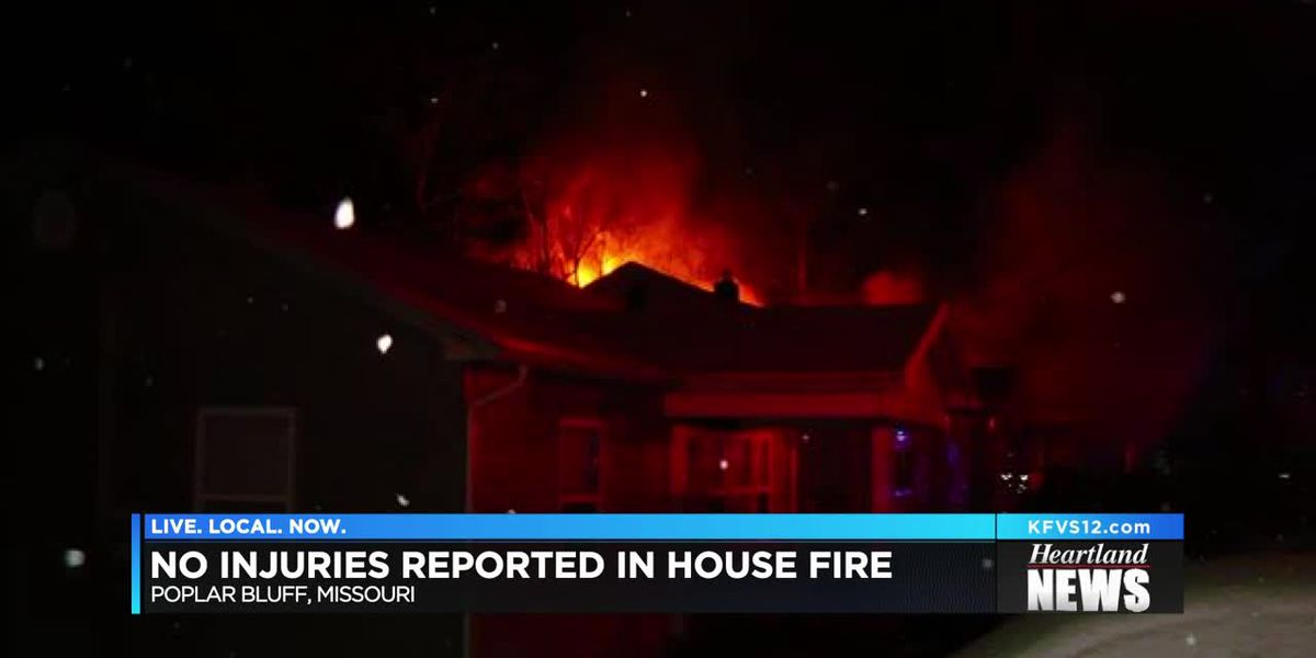 House fire in Poplar Bluff under investigation