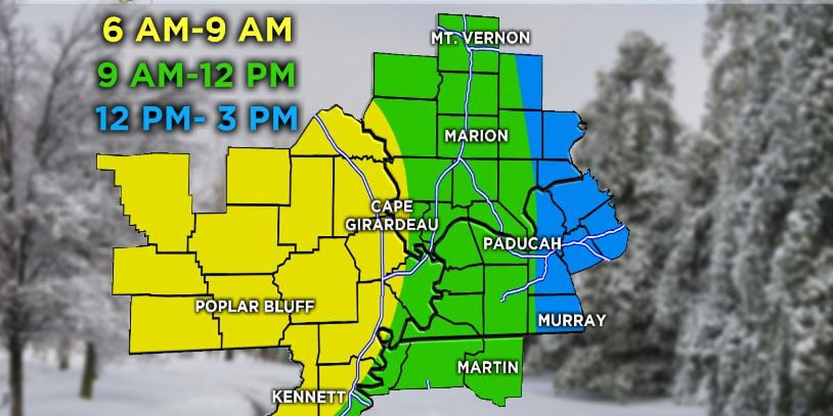 First Alert: Tracking snow