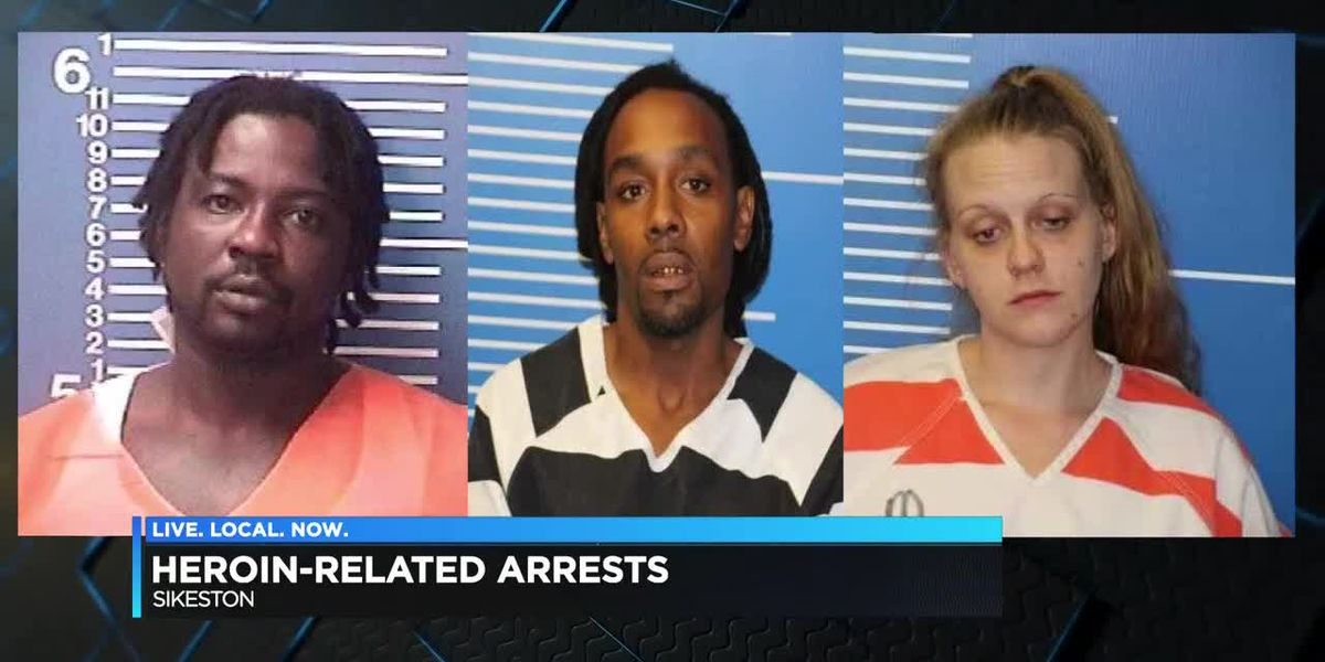 4 arrested after Heroin investigation in Sikeston, MO