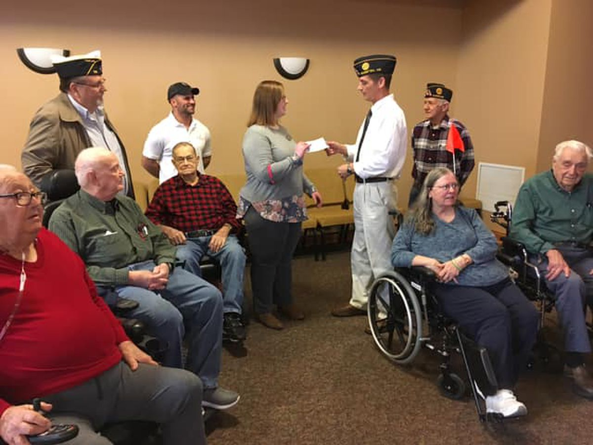 Missouri Veterans Home gets $2,700 donation from Sikeston American Legion