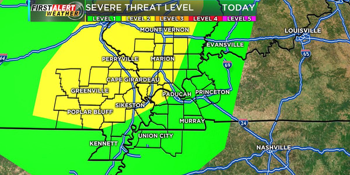 First Alert: Afternoon, evening storms possible