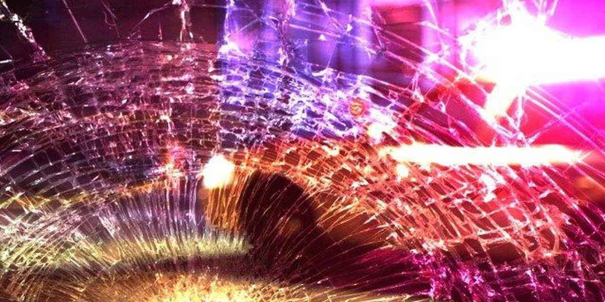 Semi crashes into parked car on I-57 in Pulaski Co., IL