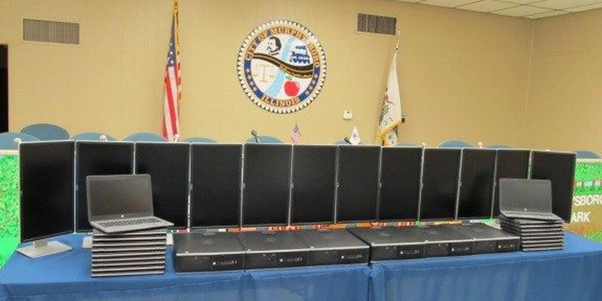 Murphysboro, IL police receive grant for 25 new computers