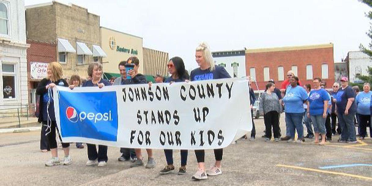 24-hour walkathon bringing awareness to child abuse awareness prevention