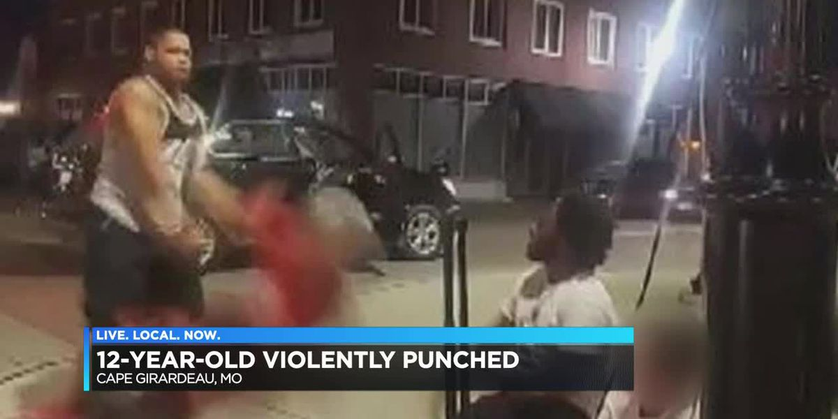 12-year-old kid violently punched in Cape Girardeau, police search for suspect