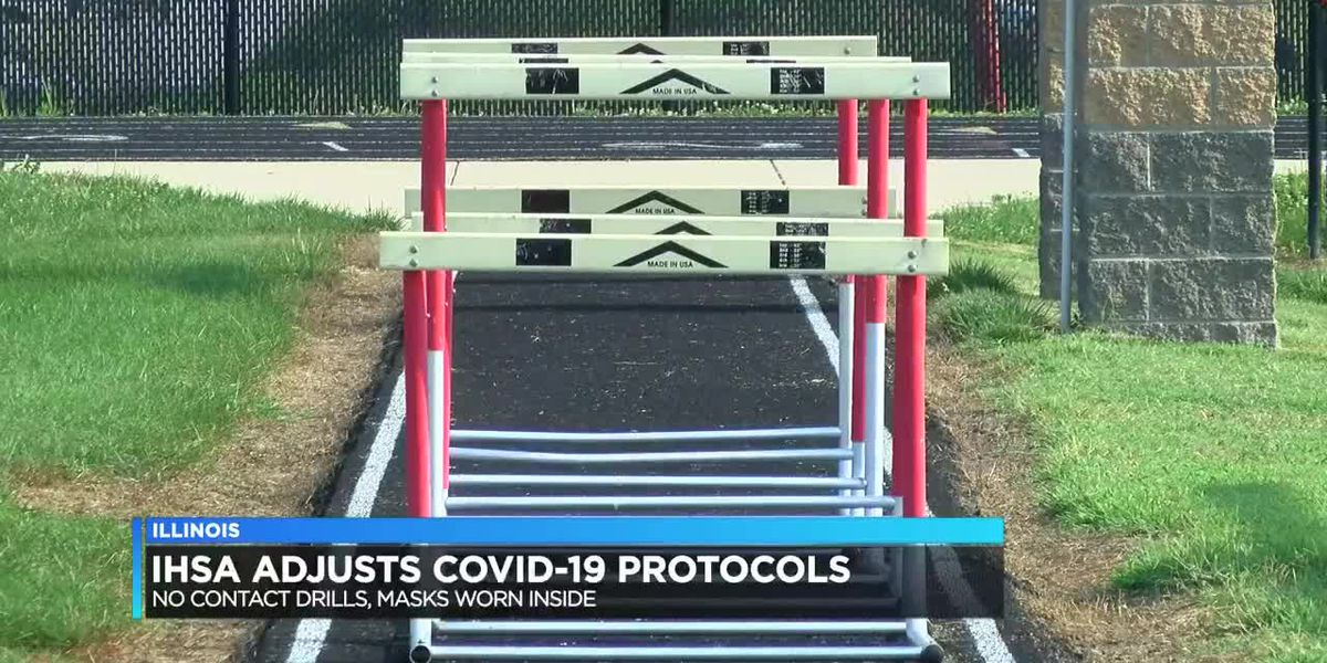 Illinois High School Association adjusts COVID-19 protocols
