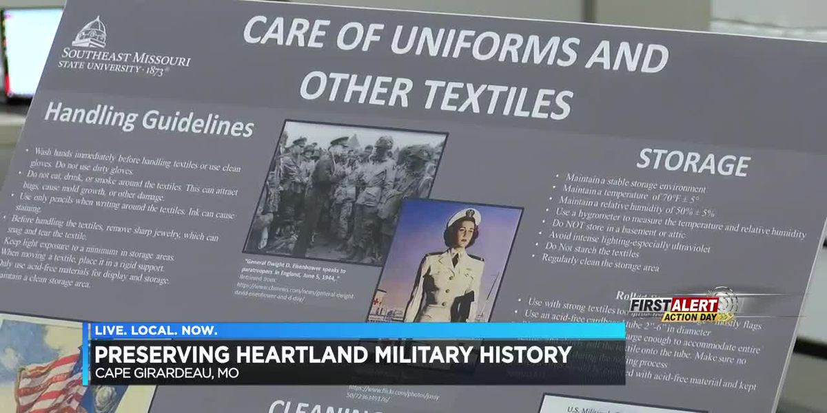 University, VFW team up to preserve military history for Veterans Day