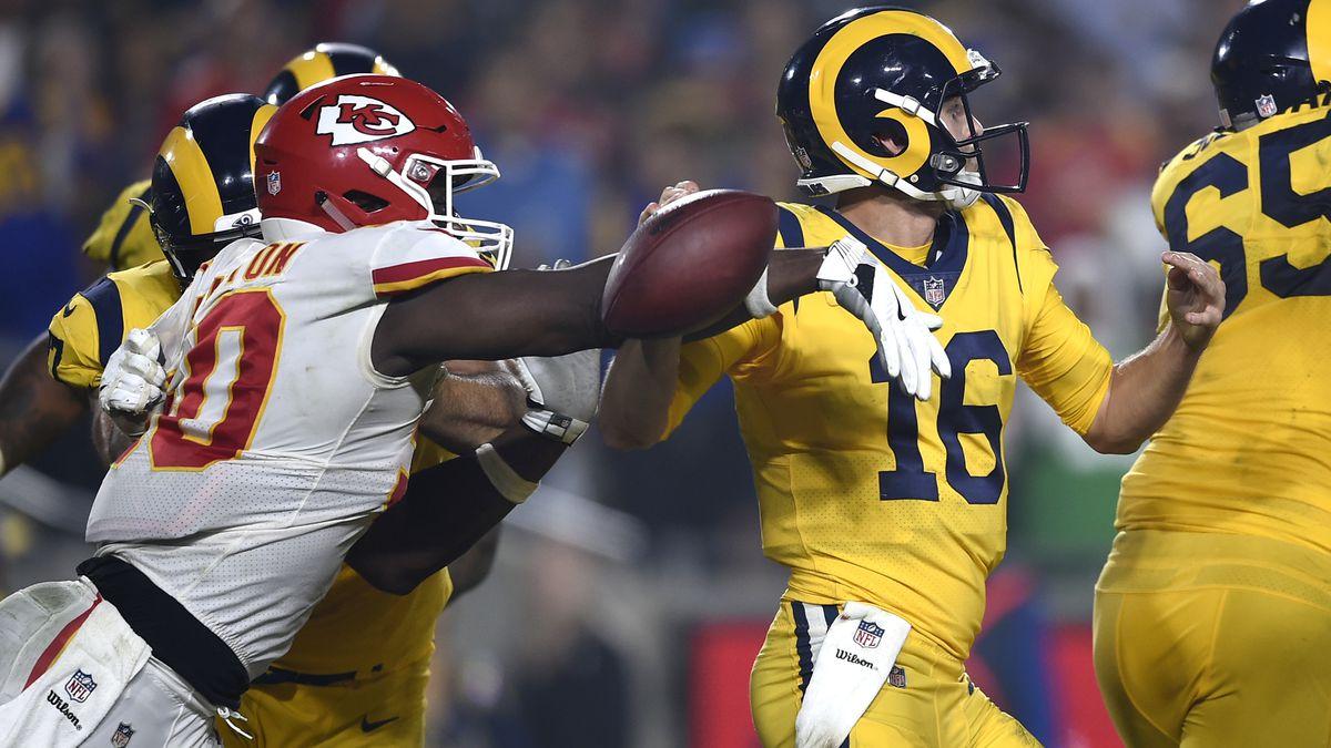 Rams outlast Chiefs 54-51 in record Monday night showdown