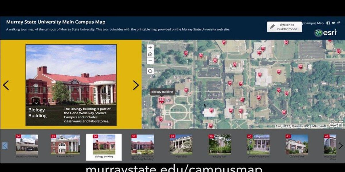 Murray State University Gets New Online Campus Map