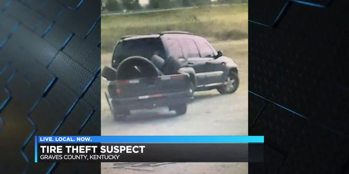 KY officials searching for tire thief