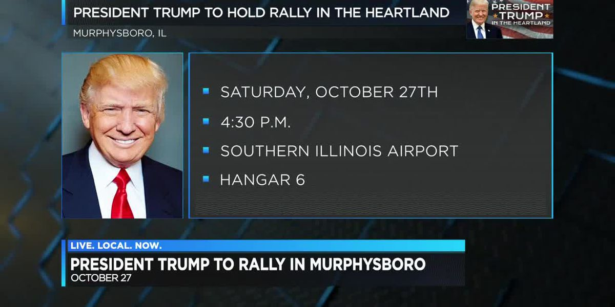President Trump, Rep. Bost to hold rally in Murphysboro, IL